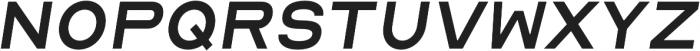 Malstrom Italic otf (400) Font UPPERCASE
