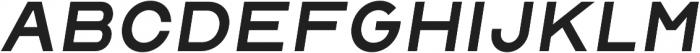 Malstrom Italic otf (400) Font LOWERCASE