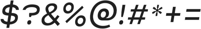 Malstrom Light Italic otf (300) Font OTHER CHARS