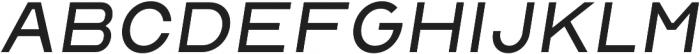 Malstrom Light Italic otf (300) Font LOWERCASE