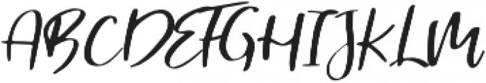 Malutik otf (400) Font UPPERCASE