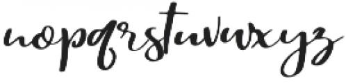 Malutik otf (400) Font LOWERCASE