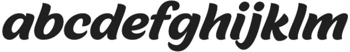 Malvie otf (400) Font LOWERCASE