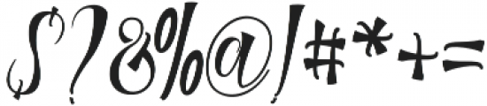 Mamthe otf (400) Font OTHER CHARS