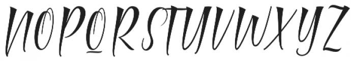 Mamthe otf (400) Font UPPERCASE