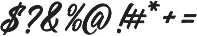 Manchester Script Regular otf (400) Font OTHER CHARS