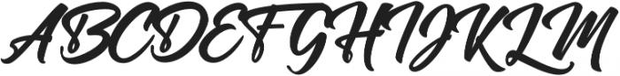 Manchester Script Regular otf (400) Font UPPERCASE