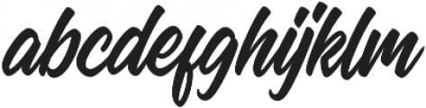 Manchester Script Regular otf (400) Font LOWERCASE