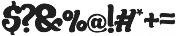 Mandarin Bold otf (700) Font OTHER CHARS