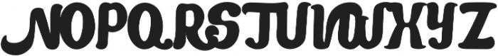 Mandarin Bold otf (700) Font UPPERCASE