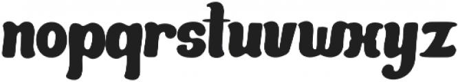 Mandarin Bold otf (700) Font LOWERCASE