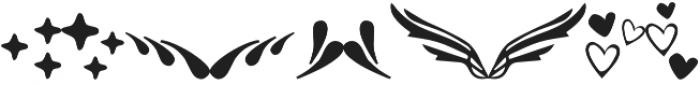 Mandarin Ornament otf (400) Font OTHER CHARS