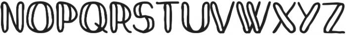 Mandarina Regular otf (400) Font UPPERCASE
