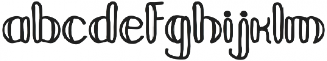 Mandarina Regular otf (400) Font LOWERCASE
