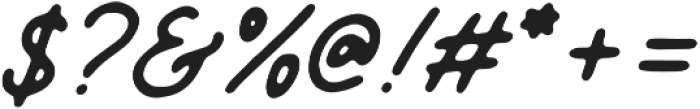 Mandatory Script otf (400) Font OTHER CHARS
