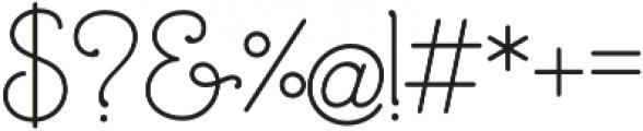 Mandevilla Bold otf (700) Font OTHER CHARS