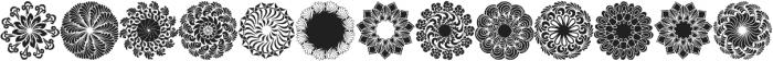 Mandings otf (400) Font LOWERCASE