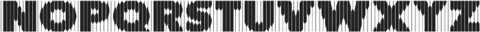 Mandolina DDT Regular otf (400) Font LOWERCASE