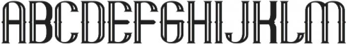 Mandon Vintage otf (400) Font LOWERCASE