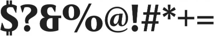 Mandrel Cond Black otf (900) Font OTHER CHARS