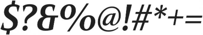 Mandrel Cond Bold Italic otf (700) Font OTHER CHARS