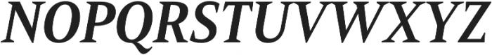 Mandrel Cond Bold Italic otf (700) Font UPPERCASE