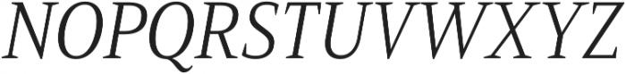 Mandrel Cond Light Italic otf (300) Font UPPERCASE