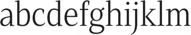 Mandrel Cond Light otf (300) Font LOWERCASE