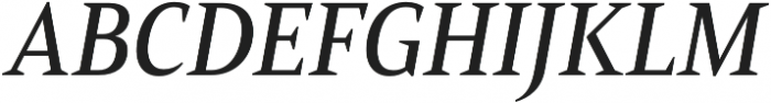 Mandrel Cond Medium Italic otf (500) Font UPPERCASE