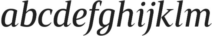 Mandrel Cond Medium Italic otf (500) Font LOWERCASE