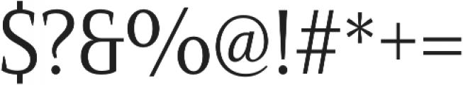 Mandrel Cond Regular otf (400) Font OTHER CHARS