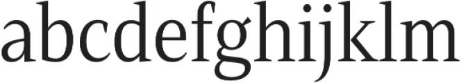 Mandrel Cond Regular otf (400) Font LOWERCASE