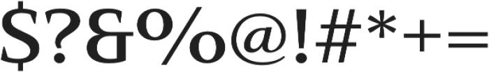 Mandrel Ext Demi otf (400) Font OTHER CHARS