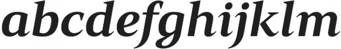 Mandrel Ext ExBold Italic otf (700) Font LOWERCASE