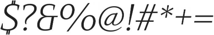 Mandrel Ext Light Italic otf (300) Font OTHER CHARS