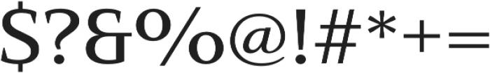 Mandrel Ext Medium otf (500) Font OTHER CHARS