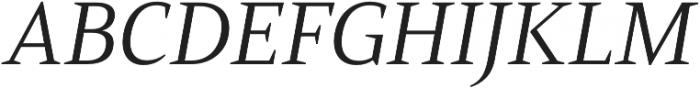 Mandrel Ext Regular Italic otf (400) Font UPPERCASE