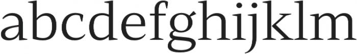 Mandrel Ext Regular otf (400) Font LOWERCASE