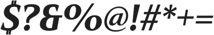 Mandrel Norm Black Italic otf (900) Font OTHER CHARS