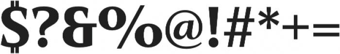 Mandrel Norm Black otf (900) Font OTHER CHARS