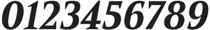 Mandrel Norm ExBold Italic otf (700) Font OTHER CHARS