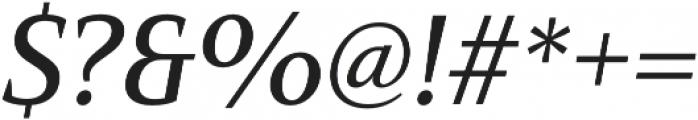 Mandrel Norm Medium Italic otf (500) Font OTHER CHARS