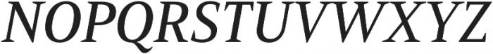 Mandrel Norm Medium Italic otf (500) Font UPPERCASE