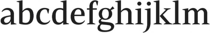 Mandrel Norm Medium otf (500) Font LOWERCASE