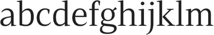Mandrel Norm Regular otf (400) Font LOWERCASE