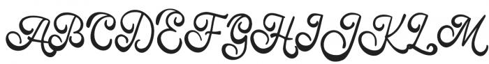 Manfet otf (400) Font UPPERCASE