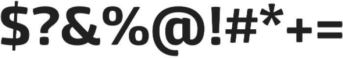 Mangerica Pro otf (700) Font OTHER CHARS