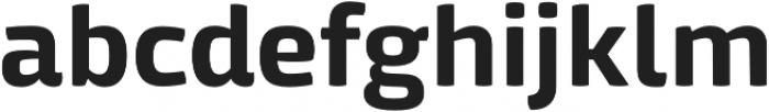 Mangerica Pro otf (700) Font LOWERCASE