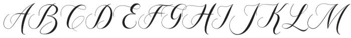 Mangifera otf (400) Font UPPERCASE
