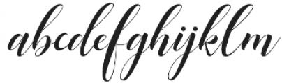 Mangifera otf (400) Font LOWERCASE